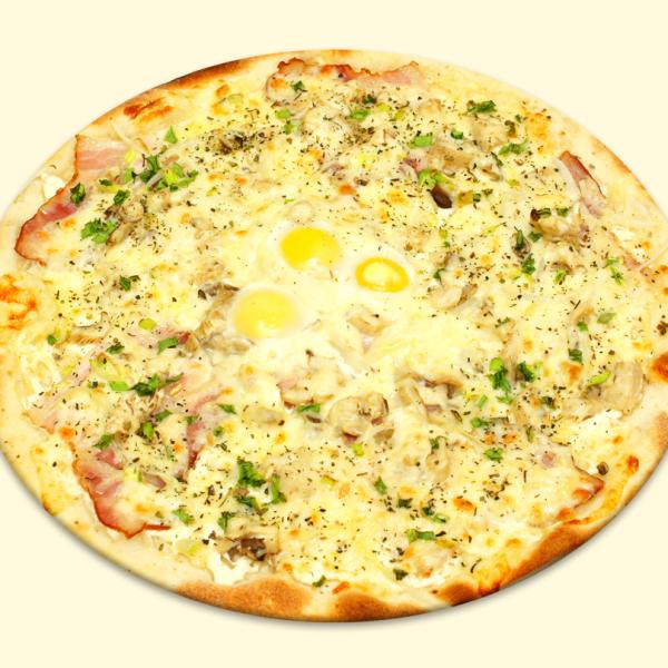 Карбонара (с яйцом)