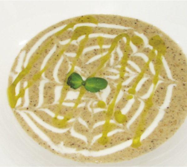 Сливочный крем-суп из грибов