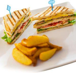 сендвич размытый край