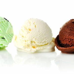 Итальянское мороженое и сорбет